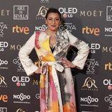 Mariola Fuentes en los Premios Goya 2019