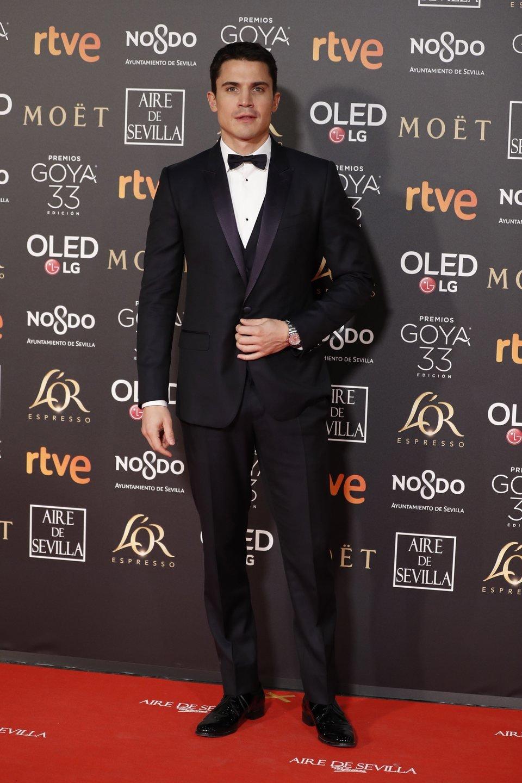 Alex González en los Premios Goya 2019