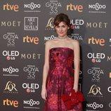 Marta Nieto en los Premios Goya 2019