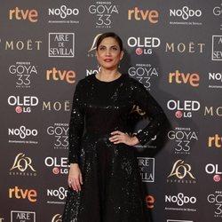 Toni Acosta en los Premios Goya 2019