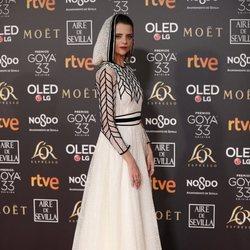 Macarena Gómez en los Premios Goya 2019