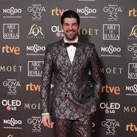 Miguel Ángel Muñoz en los Premios Goya 2019
