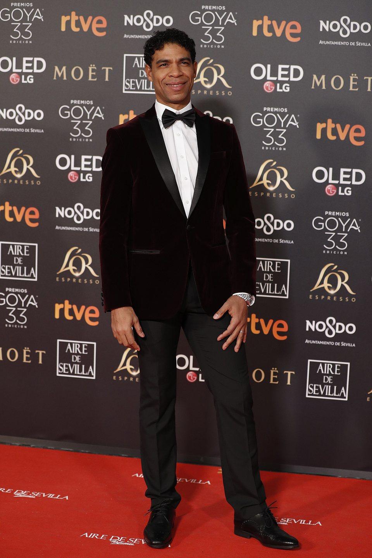 Carlos Acosta en los Premios Goya 2019