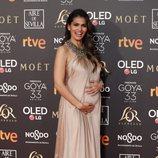 Sara Sálamo en los Premios Goya 2019