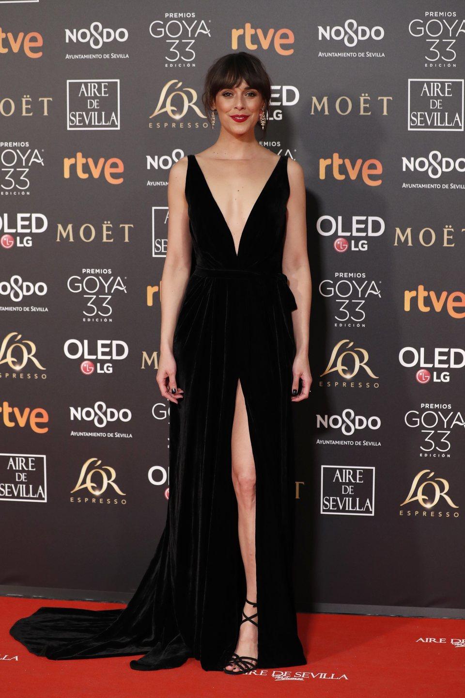 Belén Cuesta en los Premios Goya 2019