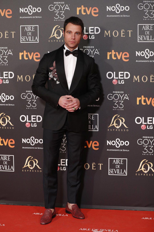 Carles Francino en los Premios Goya 2019