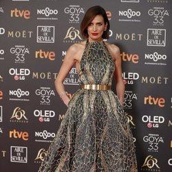 Nieves Álvarez en los Premios Goya 2019