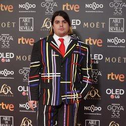 Brays Efe en los Premios Goya 2019