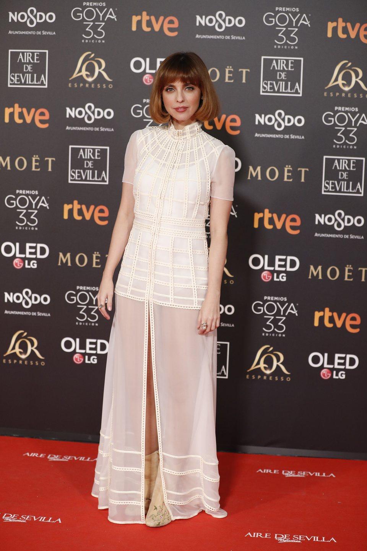 Leticia Dolera en los Premios Goya 2019