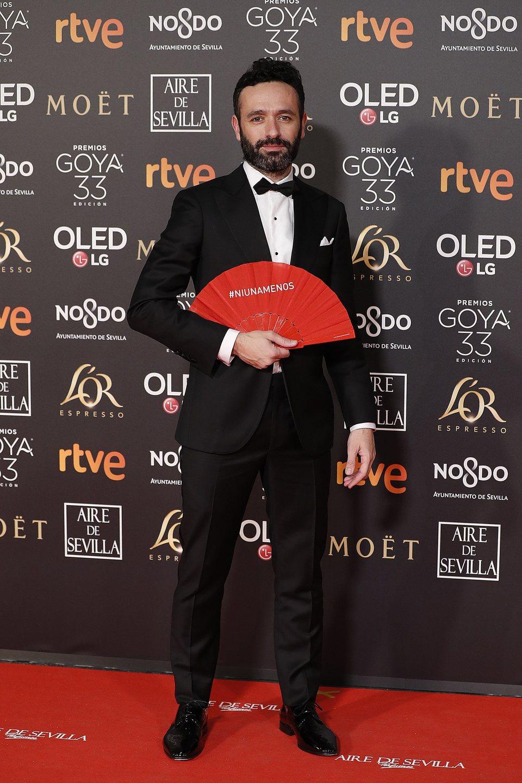 Rodrigo Sorogoyen en los Premios Goya 2019