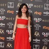 Anna Castillo en los Premios Goya 2019