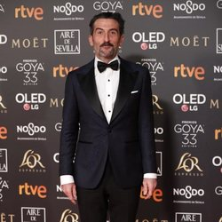 Luis Zahera en los Premios Goya 2019