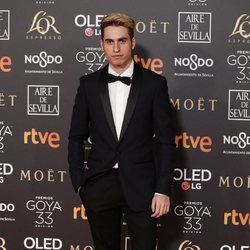 Eloi Costa en los Premios Goya 2019