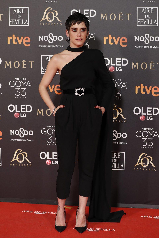 María León en los Premios Goya 2019