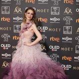 Silvia Abascal en los Premios Goya 2019