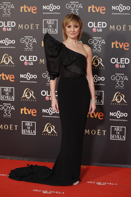 Nathalie Poza en los Premios Goya 2019