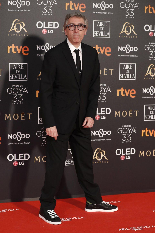 David Trueba en los Premios Goya 2019