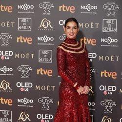 Belén López en los Premios Goya 2019