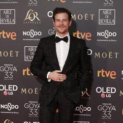 Álvaro Cervantes en los Premios Goya 2019