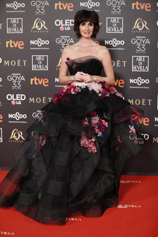 Paz Vega en los Premios Goya 2019