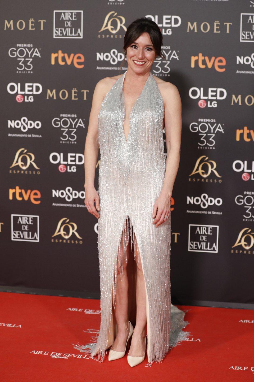 Lola Dueñas en los Premios Goya 2019