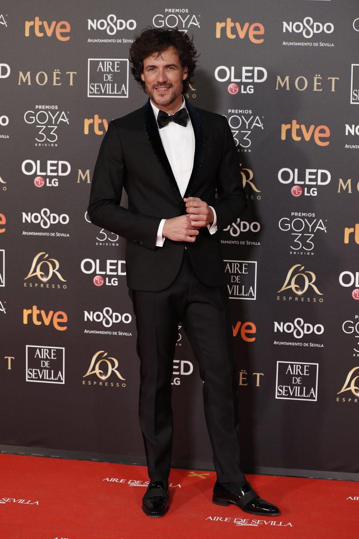 Daniel Grao en los Premios Goya 2019