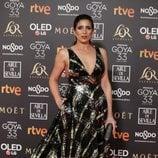 Lucía Jiménez en los Premios Goya 2019