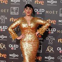 Rossy de Palma en los Premios Goya 2019