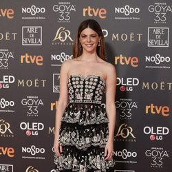 Manuela Velasco en los Premios Goya 2019