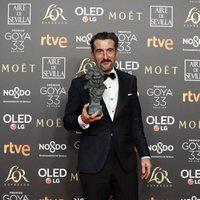 Luis Zahera, mejor actor de reparto Premios Goya 2019