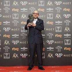 Jesús Vidal, mejor actor revelación Premios Goya 2019