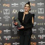 Carolina Yuste, mejor actriz de reparto Goya 2019
