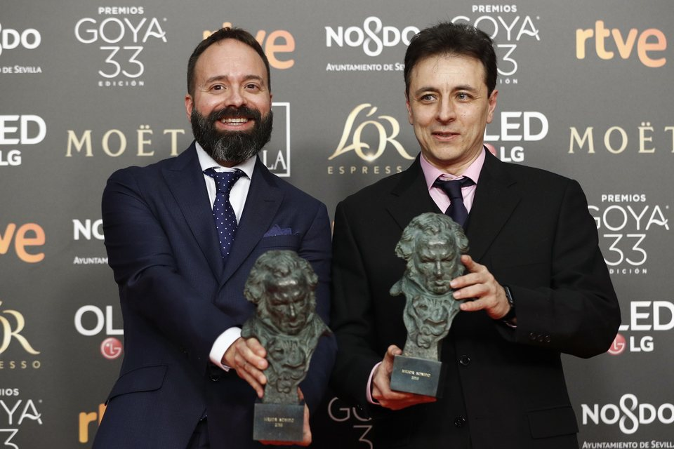 'El reino', mejor sonido Goya 2019