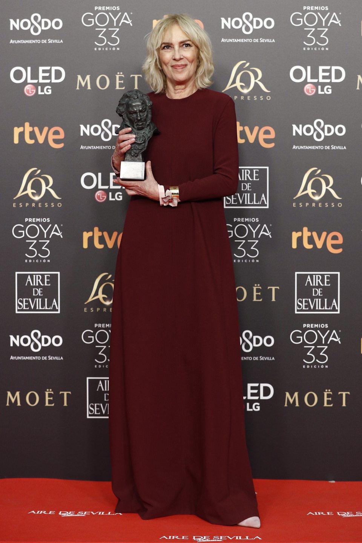 Susi Sánchez, mejor actriz protagonista Goya 2019