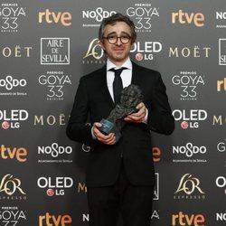 'El reino', mejor montaje Goya 2019