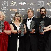 'El hombre que mató a Don Quijote', mejor maquillaje y peluquería Goya 2019