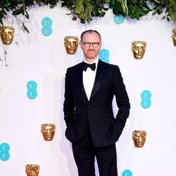 Mark Gatiss en la alfombra roja de los BAFTA 2019