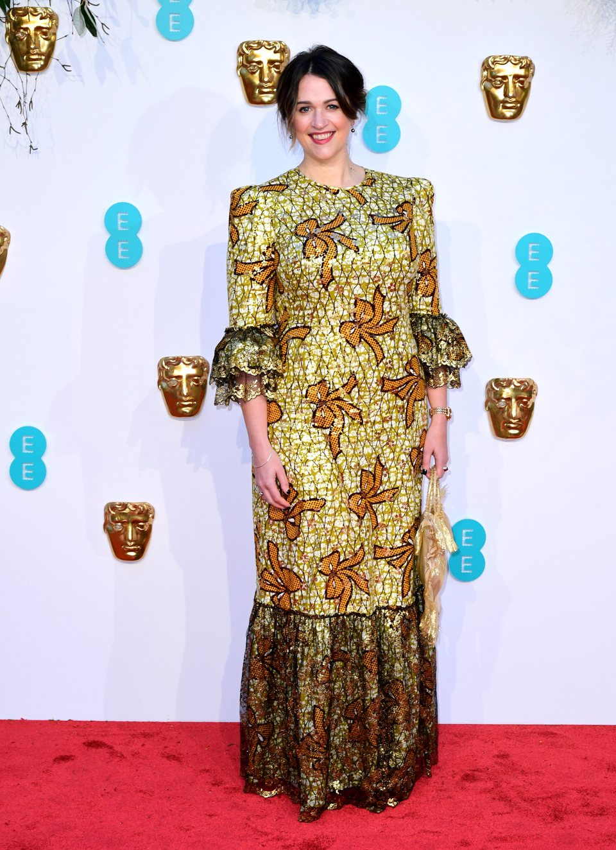 Sophie Harman en la alfombra roja de los BAFTA 2019