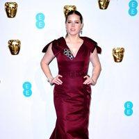 Amy Adams en la alfombra roja de los BAFTA 2019