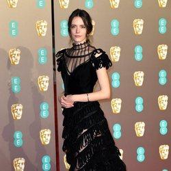 Stacy Martin en la alfombra roja de los BAFTA 2019