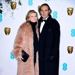 Alexandre Desplat en la alfombra roja de los BAFTA 2019