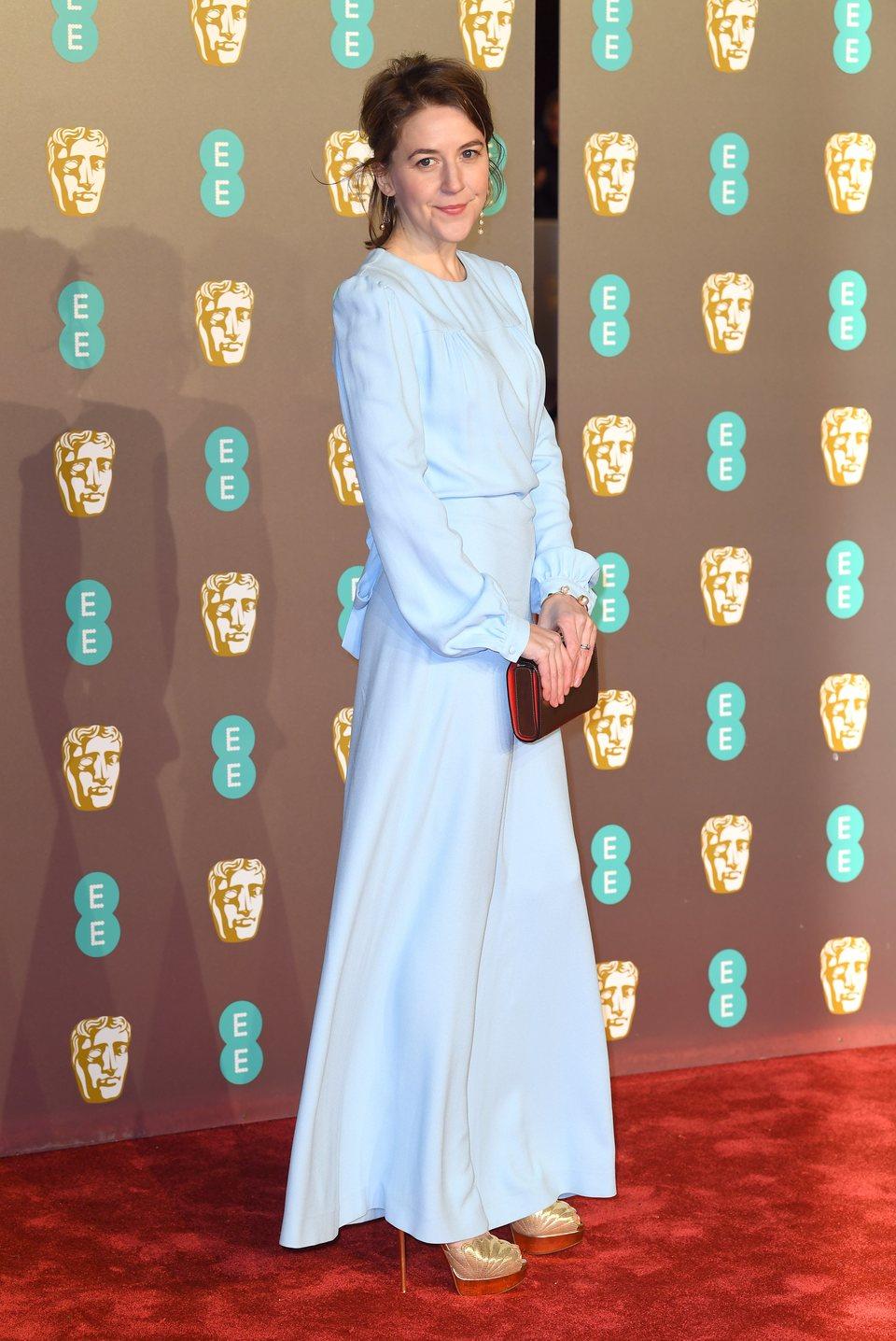 Gemma Whelan en la alfombra roja de los BAFTA 2019
