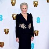 Glenn Close en la alfombra roja de los BAFTA 2019