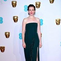 Claire Foy en la alfombra roja de los BAFTA 2019