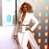 Mary J. Blige en la alfombra roja de los BAFTA 2019