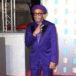 Spike Lee en la alfombra roja de los BAFTA 2019