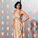 Michelle Rodriguez en la alfombra roja de los BAFTA 2019