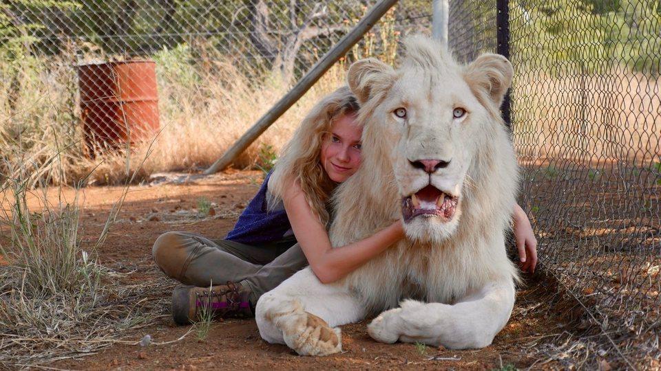 Mia y el león blanco, fotograma 3 de 20