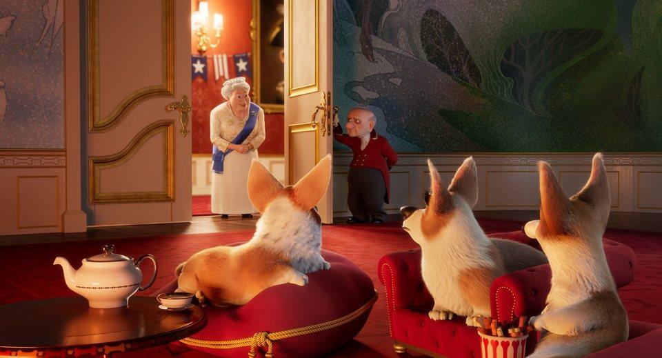 Corgi, las mascotas de la reina, fotograma 20 de 24