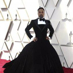 Billy Porter en la alfombra roja de los Oscar 2019